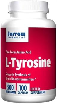 Jarrow Formulas L-Tyrosine 500mg (100капс) - фото 6684