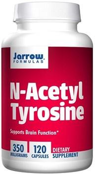 Jarrow Formulas N-Acetyl Tyrosine 350mg (120капс) - фото 6691
