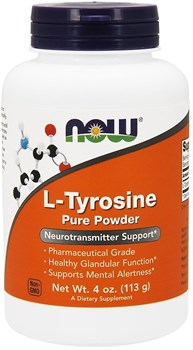 NOW L-Tyrosine Pure Powder (113гр) - фото 6692