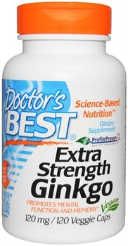 Doctor's Best Extra Strength Ginkgo (120капс) - фото 6837