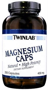 Twinlab Magnesium Caps (200капс) - фото 6878