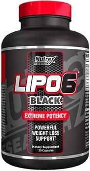 Nutrex Lipo 6 Black (120капс) - фото 6897