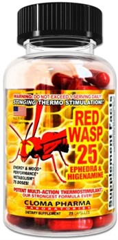 Cloma Pharma - Red Wasp (75капс) - фото 6913