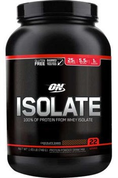 Optimum Nutrition Isolate Gluten Free (1380гр) - фото 6929