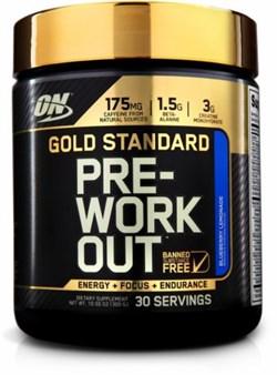 Optimum Nutrition - Gold Standard PRE-Workout (300гр) - фото 7679