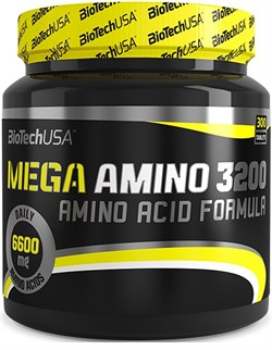 BioTech USA Mega Amino 3200 (300таб) - фото 7695