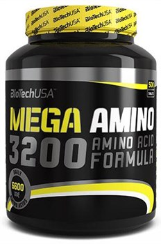 BioTech USA Mega Amino 3200 (500таб) - фото 7698