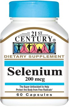 21st Century Selenium 200mсg (60капс) - фото 8108