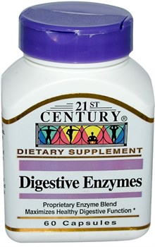 21st Century Digestive Enzymes (60капс) - фото 8122