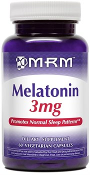 MRM - Melatonin 3mg (60капс) - фото 8131