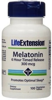 Life Extension Melatonin 300mcg (100капс) - фото 8153
