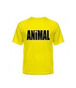 Universal Nutrition майка Animal (жёлтый) - фото 8173