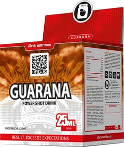 aTech Nutrition - Guarana power shot drink (20x25мл) - фото 8206