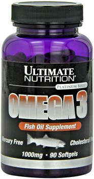 Ultimate Nutrition Omega 3 (90капс) - фото 8253