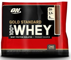 Optimum Nutrition 100 % Whey Gold Standard (1 порция) пробник - фото 8261