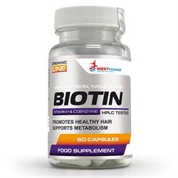 WESTPHARM Biotin 10mg (60капс) - фото 8274