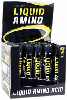 BioTech USA Liquid Amino Ampule (20x25мл) - фото 8330