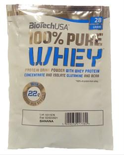 BioTech USA 100% Pure Whey (1 порция) пробник - фото 8337