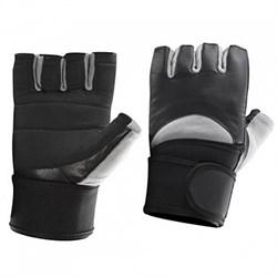 Be First - Перчатки черно-серые с жестким фиксатором запястья - фото 8342