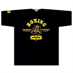 Maxler футболка Boxing (черный) - фото 8346