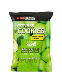 PureProtein - Protein Сookies Fiber Low Carb (Fitness Cookies) (40гр) - фото 8371