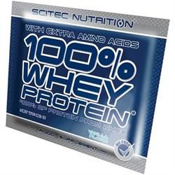 Scitec Nutrition - 100% Whey Protein (1 порция) пробник - фото 8508