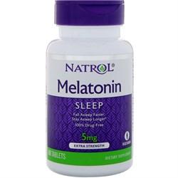 Natrol - Melatonin 5mg (60таб) - фото 8578