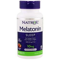 Natrol - Melatonin 10mg Fast Dissolve (60таб) - фото 8579