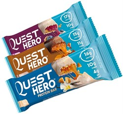 Quest Nutrition - Quest Hero Protein Bar (60гр) - фото 8591