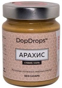 DopDrops Протеиновая паста Арахис стекло (морская соль, стевия) (265гр) - фото 8608