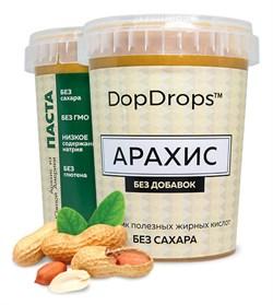 DopDrops Протеиновая паста Арахис (без добавок) (1000гр) - фото 8615