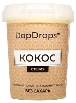 DopDrops Протеиновая паста Кокос (стевия) (1000гр) - фото 8616