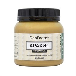 DopDrops Паста Арахис (морская соль) (250гр) - фото 8642