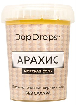 DopDrops Паста Арахис (морская соль) (1000гр) - фото 8665