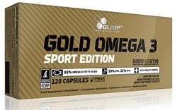 Olimp Gold Omega 3 Sport Edition (120капс) - фото 8672