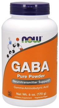 NOW - GABA Pure Powder (170гр) - фото 8697
