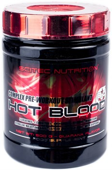 Scitec Nutrition Hot Blood 3.0 (300гр) - фото 8709