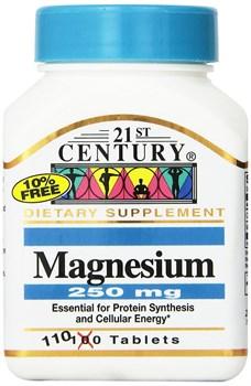 21st Century Magnesium 250 mg (110таб) - фото 8715
