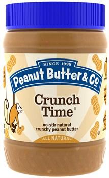 Peanut Butter & Co Crunch Time Хрустящее арахисовое масло (454гр) - фото 8724