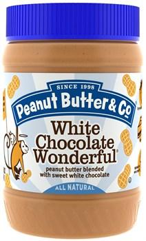 Peanut Butter & Co White Chocolate Wonderful Арахисовое масло с белым шоколадом (454гр) - фото 8725