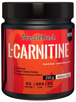 Muscle Rush L-Carnitine (250гр) - фото 8745