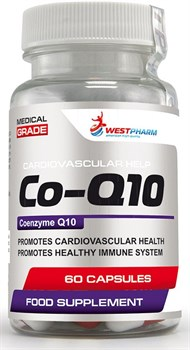 WESTPHARM Co-Q10 100mg (60капс) - фото 8762
