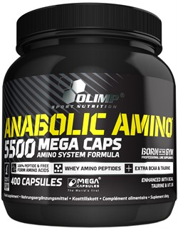 Olimp Anabolic Amino 5500 (400капс) - фото 8814