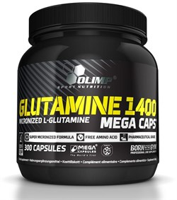 Olimp L- Glutamine Mega Caps (300капс) - фото 8816
