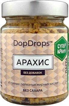 DopDrops Паста Арахис СуперКранч стекло (без добавок) (200гр) - фото 8849