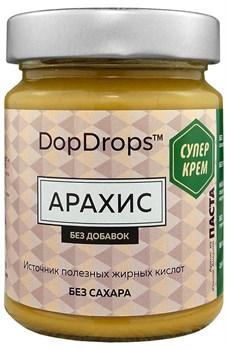 DopDrops Паста Арахис СуперКрем стекло (без добавок) (265гр) - фото 8851