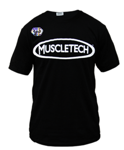 MuscleTech футболка Team 2018 (черный) - фото 8862