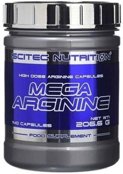 Scitec Nutrition - Mega Arginine (140капс) - фото 8882