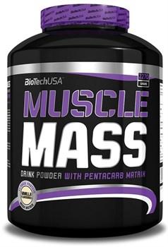BioTech USA - Muscle Mass (2270гр) - фото 8884
