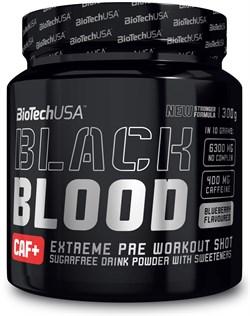 BioTech USA Black Blood CAF+ (300гр) - фото 8895
